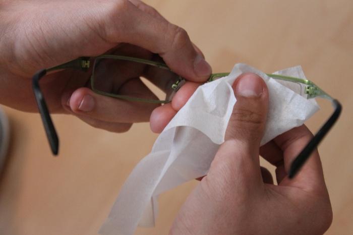Jak si vyčistit brýle
