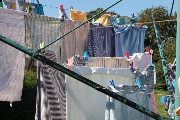 Jak správně věšet prádlo