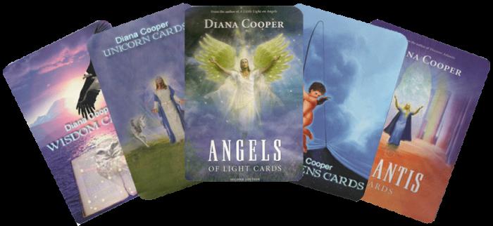 Andělské karty – propojení sanděly