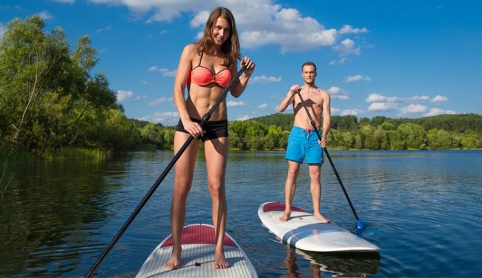 Jak začít s paddleboardingem